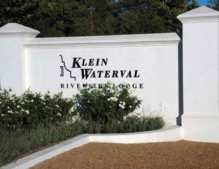 klein waterval entrance